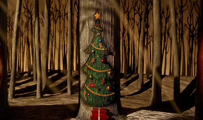 independence day town the nightmare before christmas holiday tree 1