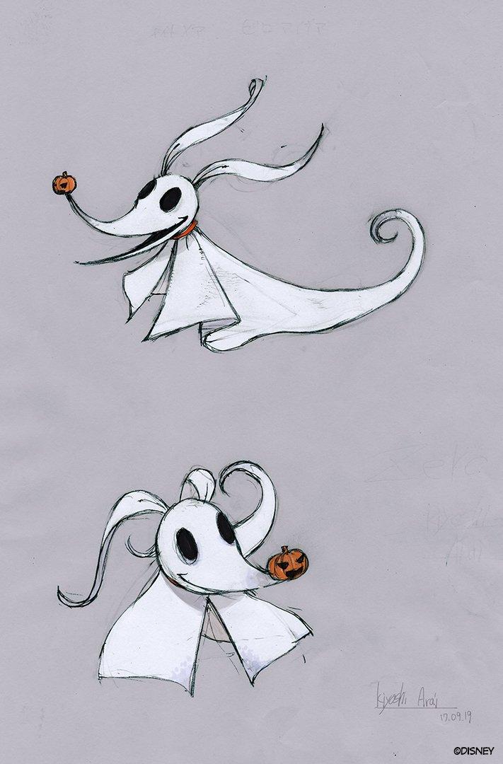 Image - Concept Art Manga Zero.jpg | The Nightmare Before Christmas ...