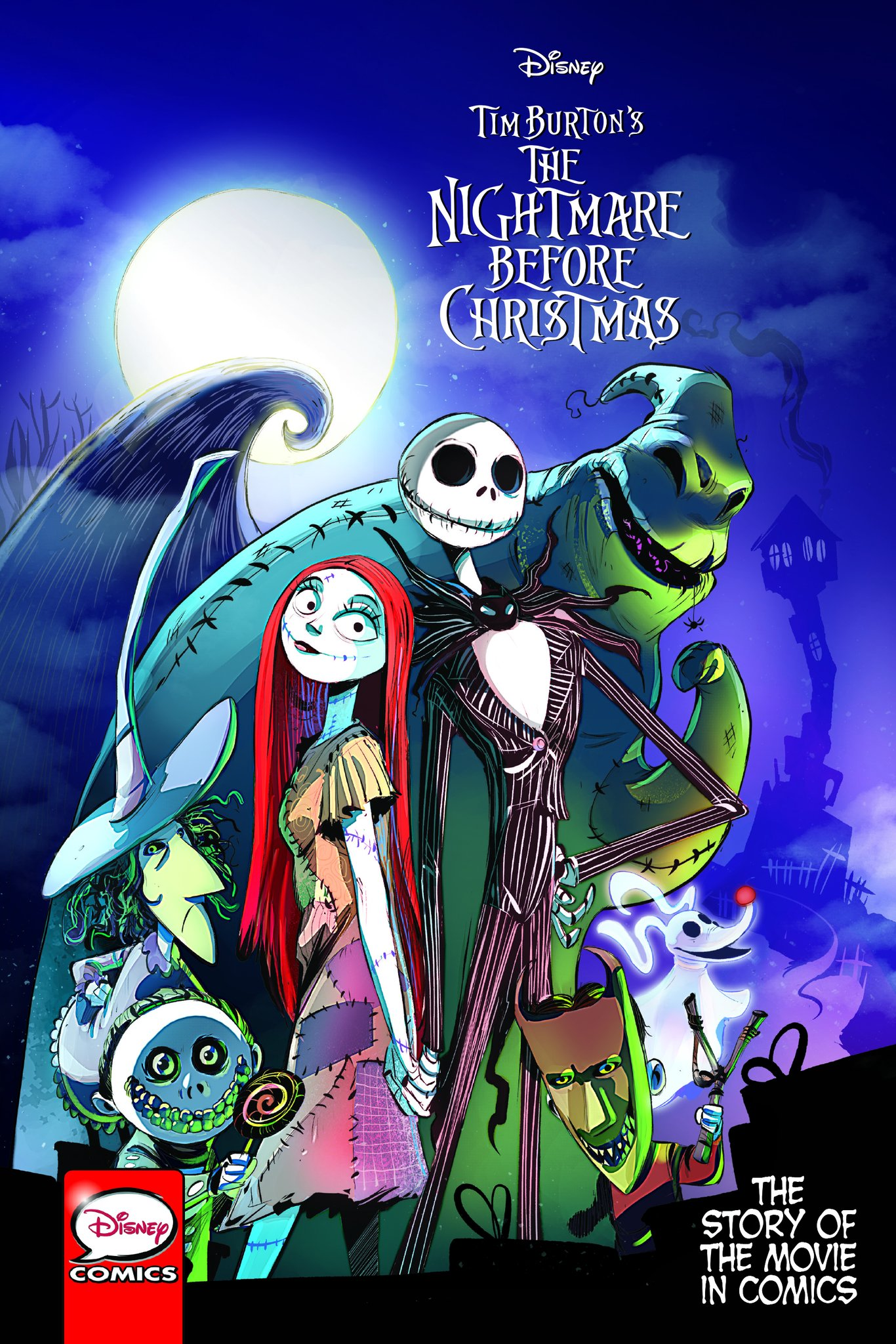The Nightmare Before Christmas: The Story of the Movie in Comics ...