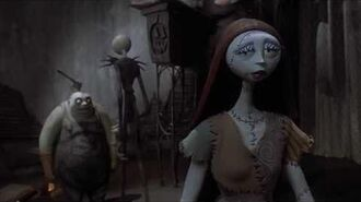 Sally warns Jack about her Vision Nightmare Before Christmas (HD)