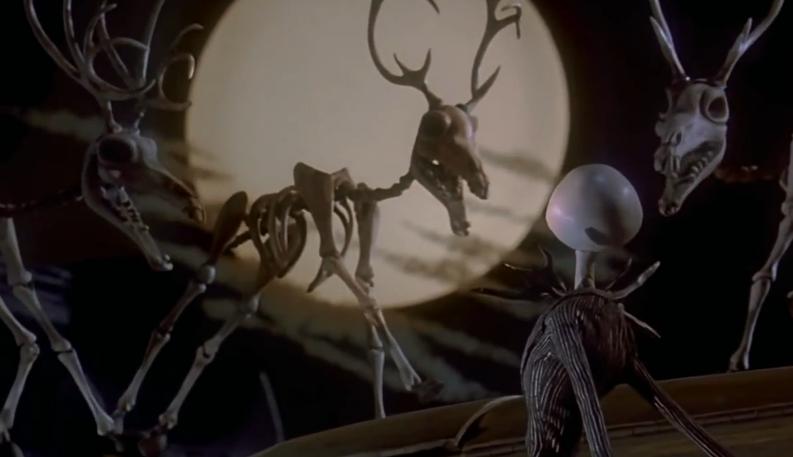 Skeletal Reindeer The Nightmare Before Christmas Wiki
