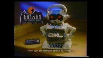 RETRO COMMERCIAL BREAK Tiger 2XL Talking Robot w Batman, Twix, Nightmare Before Christmas