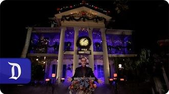 Danny Elfman at Haunted Mansion Holiday - Disneyland Park