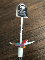 NIGHTMARE-BEFORE-CHRISTMAS-1993-Applause-Pencil-Topper-Figure-NEW- 1
