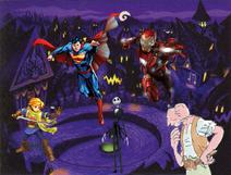 Heroes In Halloween Town
