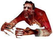 Half-a-zombie