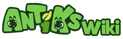 Antiks Wiki Wordmark