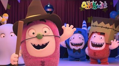 1d204e557 Video - Halloween Special - Oddbods - PARTY MONSTERS - Sneak Peek -1 ...