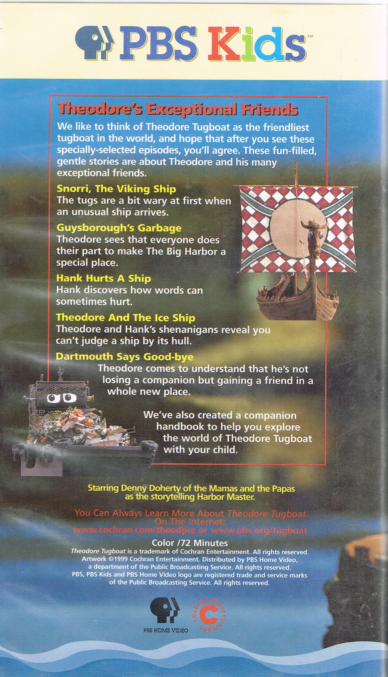 Theodore's Exceptional Friends   Theodore Tugboat Wiki ...