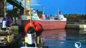 Theodore Tugboat Theodore & the Big Harbour better quality
