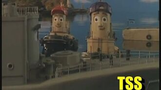 George and the Navy Ship Theodore Tugboat