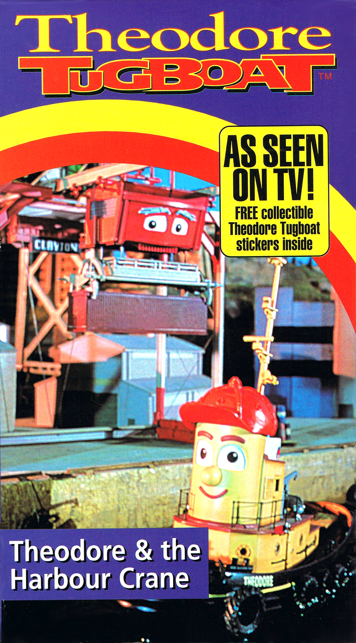 Theodore And Bella Card: Theodore And The Harbour Crane (VHS)