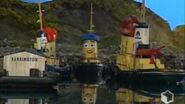 Theodore Tugboat George Buzzes the Dock-0
