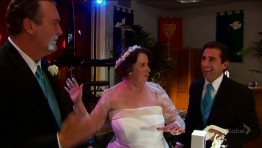 Jim And Pam Wedding Episode.Phyllis Wedding Dunderpedia The Office Wiki Fandom