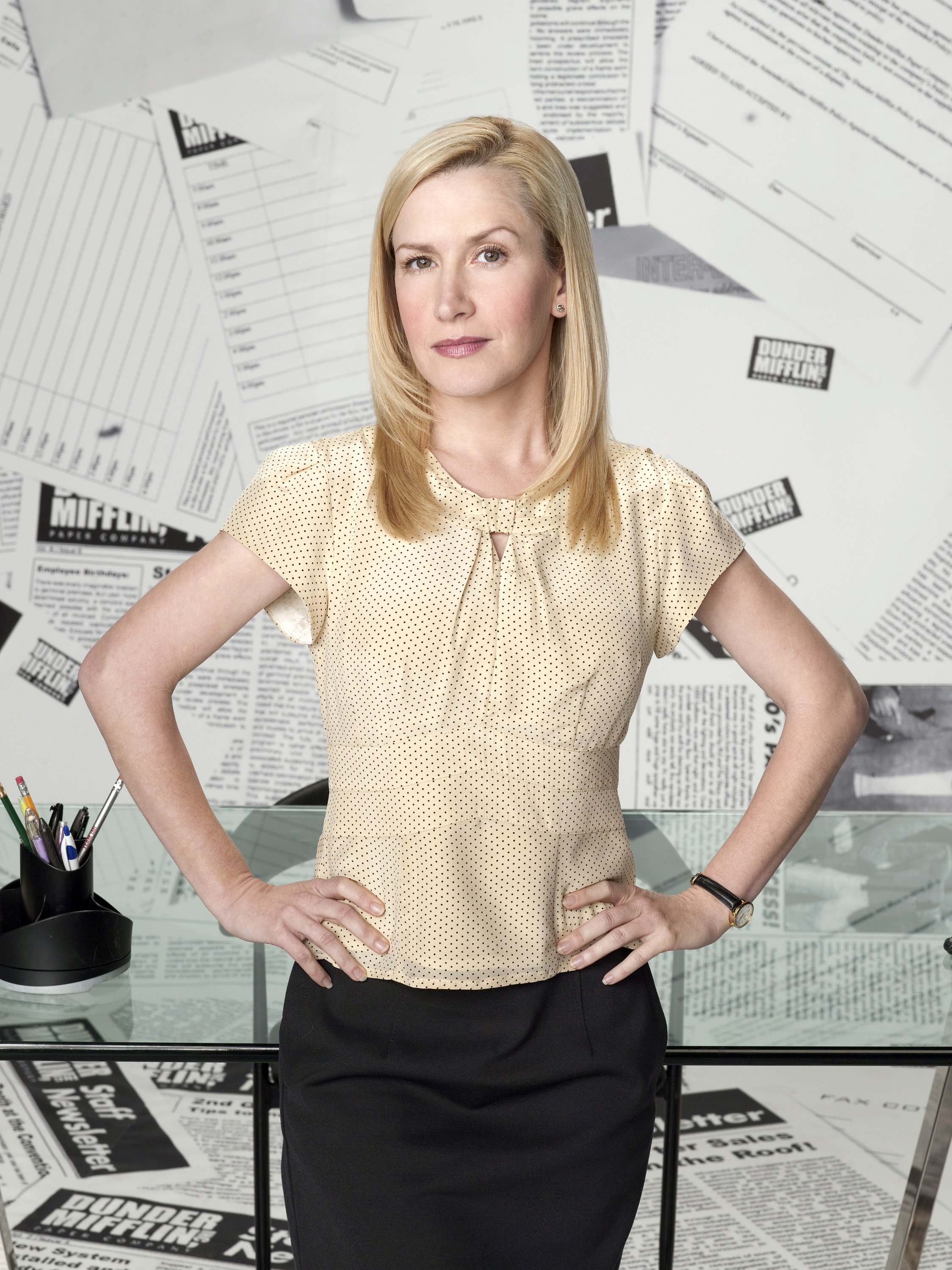 Angela Dip Fotos angela martin | dunderpedia: the office wiki | fandom