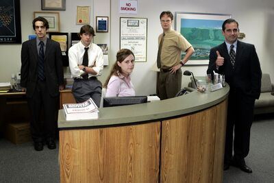 Season 1 Of The Office Began On March 24 2005 Nbc It Is Based Bbc Series Created By Ricky Gervais And Stephen Merchant Developed For