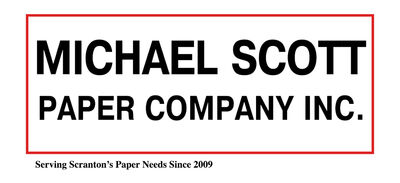 Michael Scott Paper Company Logo