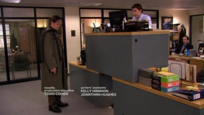 Dwight Is Shocked To See Quad Desk