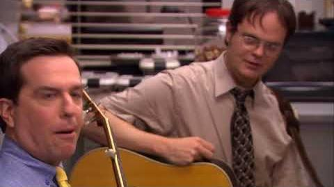 The Office: Dwight and Andy: Country Roads - YouTube