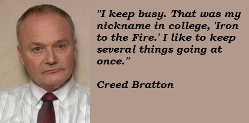 Creed Quotes Alluring Creed Bratton  Dunderpedia The Office Wiki  Fandom Poweredwikia