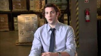 The Office - 7.20 - John Krasinski Interview