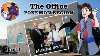 Dunder Mifflin as a Pokemon Region!! The Office Pokemon Mashup Part 1