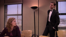 Jim's tuxedo