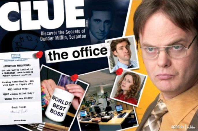 Clue The Office Board