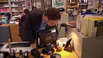 The Office - Jim's wire prank on Dwight