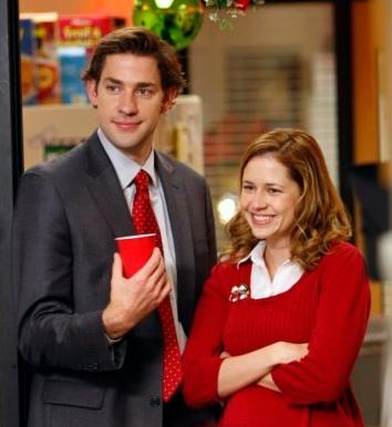 Does jim and pam hookup in real life