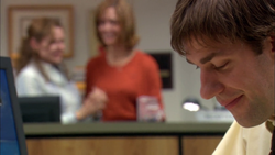 Sexual Harassment - Jim hearing Pam and her mom talking about him