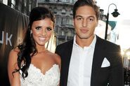 Lucy Mecklenburgh and Mario Falcone -869580