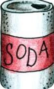 Soda can body