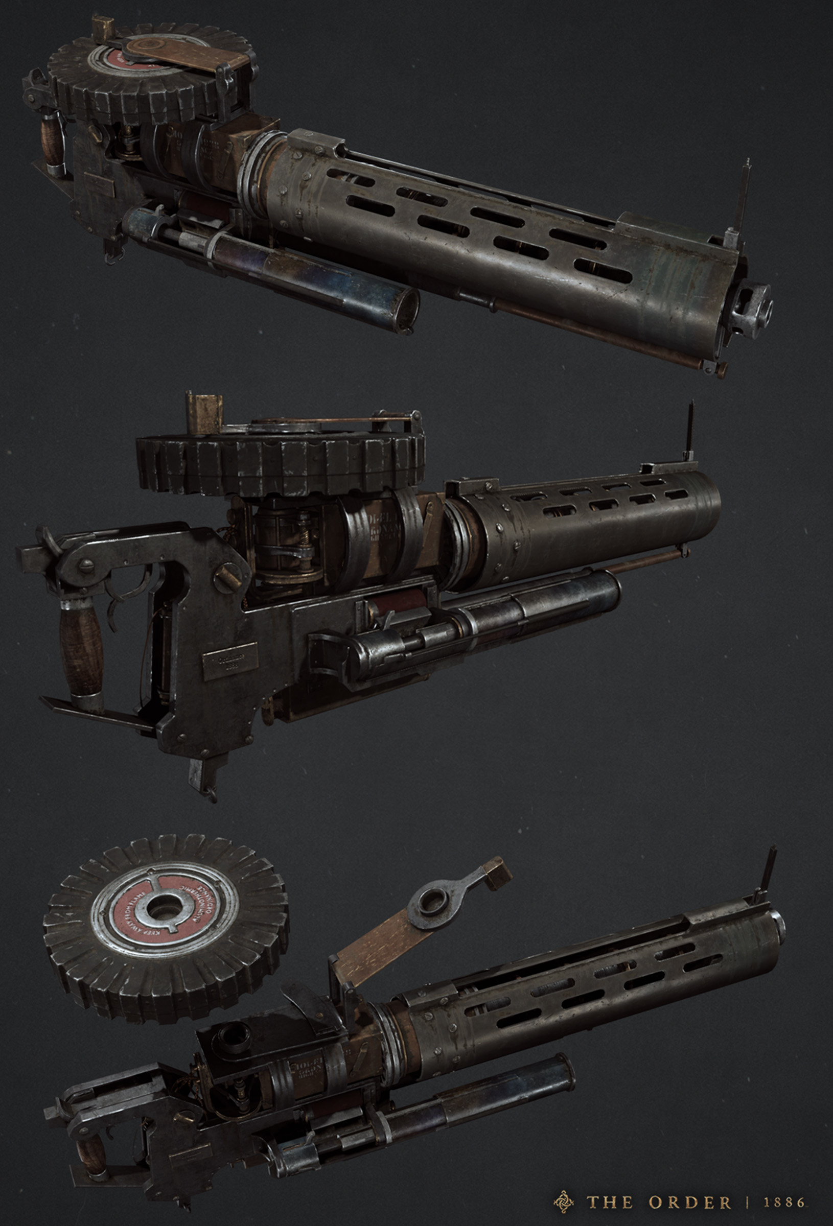 M86/FL Thermite Rifle | The Order: 1886 Wiki | FANDOM
