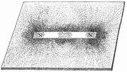 Magnetische Kraftlinien