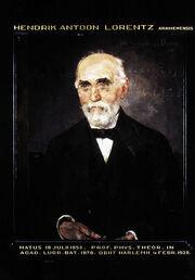 Hendrik Antoon Lorentz, in 1916 geschilderd door Menso Kamelingh Onnes