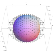 Vector Field on a Sphere