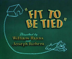 Fit To Be Tied Titles
