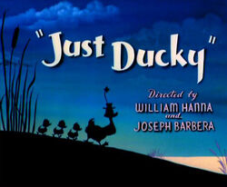 Just Ducky title card