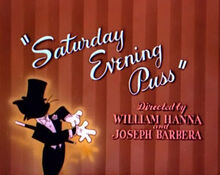 Saturday Evening Puss Title Card