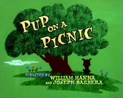 Pup On A Picnic title