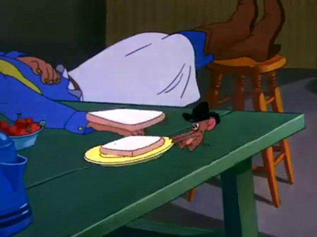 Tom & Jerry - Posse Cat avi cartoon