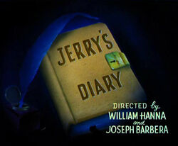 Jerry's Diary Title