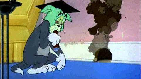 Tom & Jerry Professor Tom Cartoon HD & HQ
