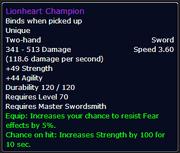Lionheart Champion