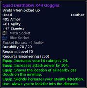 Quad Deathblow X44 Goggles