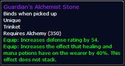 Guardian's Alchemist Stone