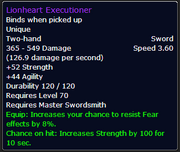 Lionheart Executioner