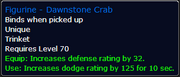 Dawnstone Crab