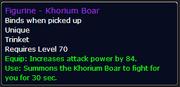 Khorium Boar